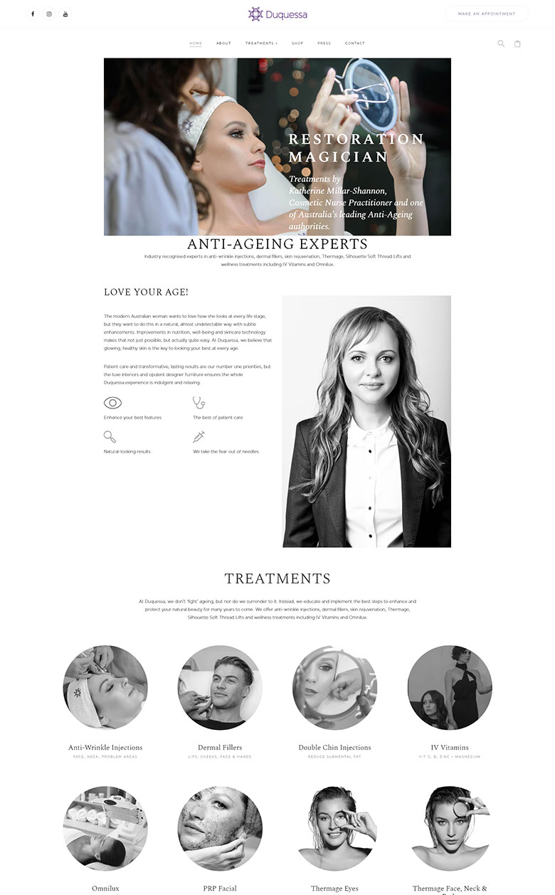 duquessa-website-example